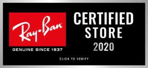 logo autoryzowany sprzedawca Ray-Ban na 2020 rok